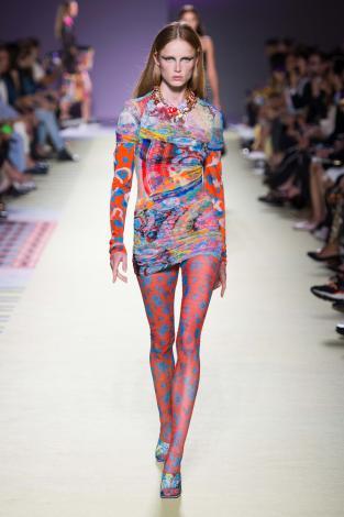 Versace MFW / Photo by: imaxtree
